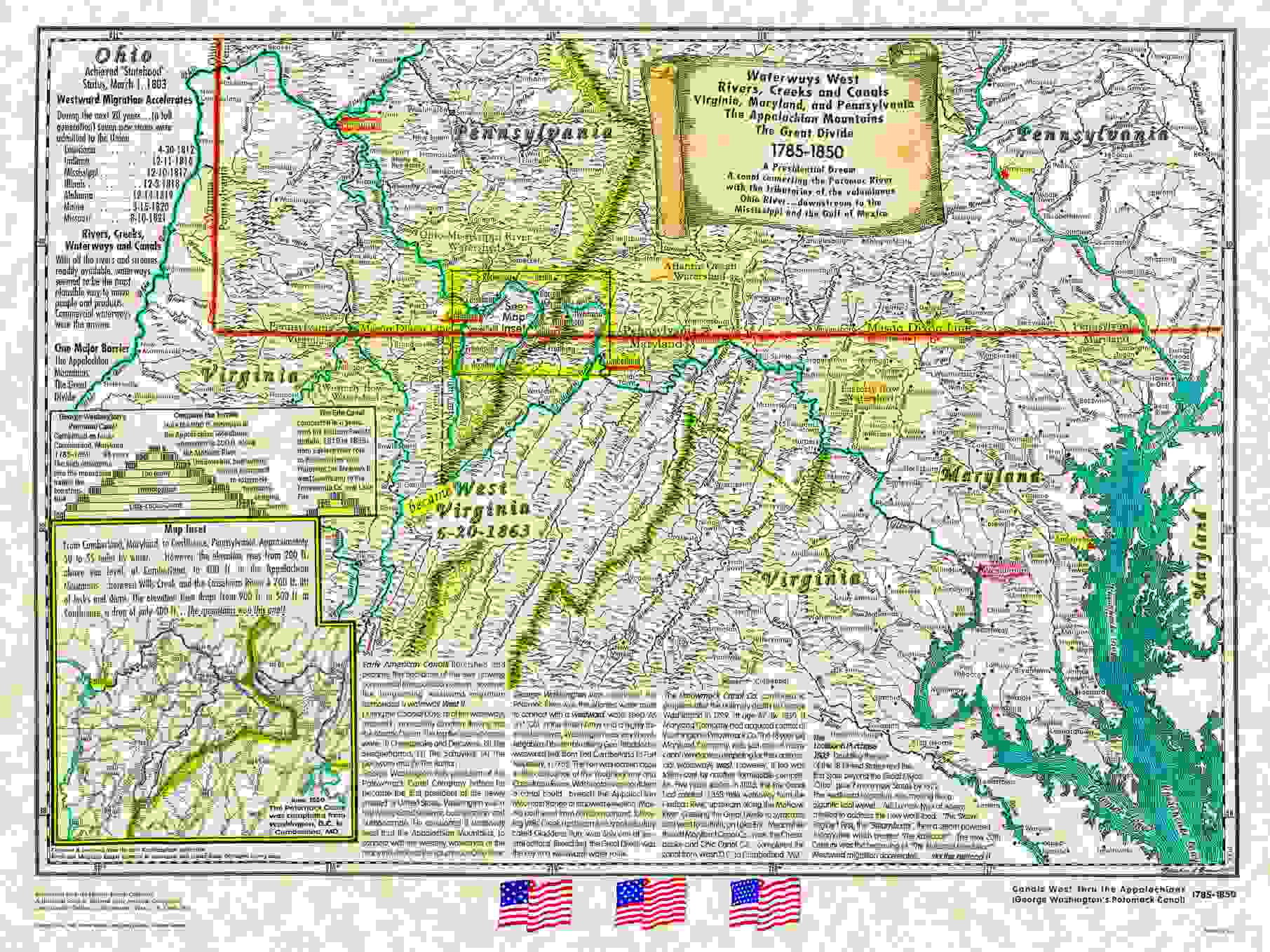 American Historical Maps