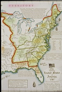 Us map 1787