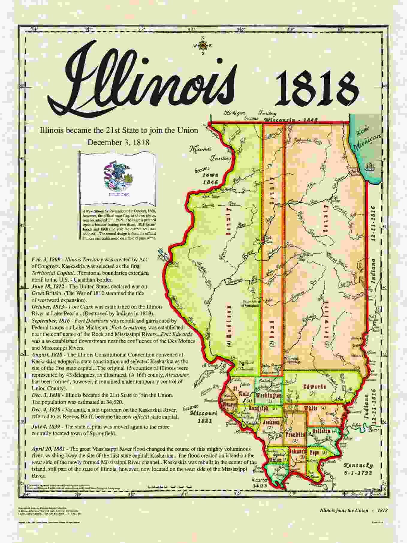 Statehood Maps on illinois state flag, illinois union map, illinois state city map, north dakota capital map, illinois state highway map, illinois state land map, illinois state motto, illinois largest cities map, illinois state map online, illinois state bird, illinois state capitol, georgetown capital map, illinois state project, illinois forest map, illinois deer map, illinois state fairgrounds map, illinois state flower, illinois springfield map, illinois state us map, u.s. capitol complex map,