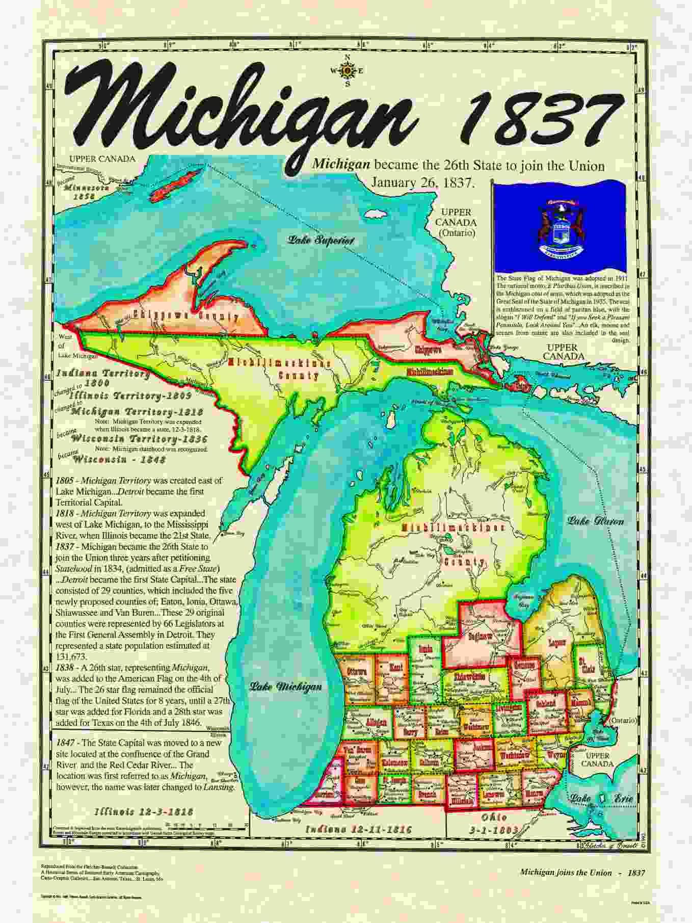 Missouri 1821 24th State